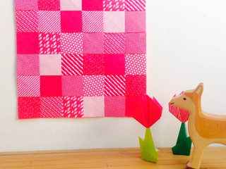 Origami Patchwork by Delphine Minassiam