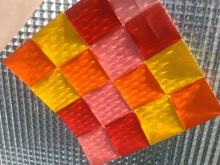 Origami mosaic by Sonsi Martin