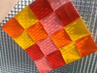 Origami mosaic by Sonsi Martin