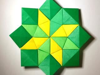 Origami Trixels